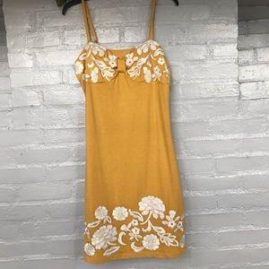 INC International Concepts embroidered sundress XL